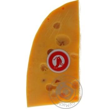 Сыр Ашан Эмменталь 45% - купить, цены на Ашан - фото 3