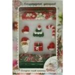 Набор Добрык Зимний набор №7: сахарные кондитерские изделия и посыпка