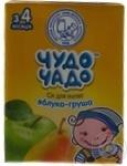 Сок Чудо-Чадо яблочно-грушевый с мякотью с 3-ох месяцев 200мл