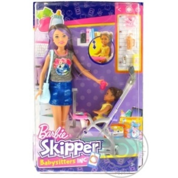Barbie Toy set with Nanny doll in tock - buy, prices for MegaMarket - image 1