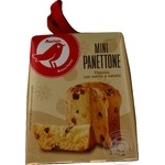 Fruitcake Auchan Panettone with candied fruits 100g