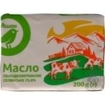 Butter Auchan Peasant style 73% 200g