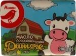 Butter Auchan Baby 73% 200g