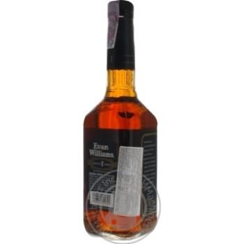 Бурбон Evan Williams Black 43% 0,75л - купити, ціни на МегаМаркет - фото 2