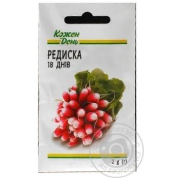 Kozhen Den 18 Days Radish Seeds 2g - buy, prices for Auchan - photo 1