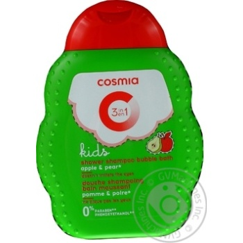 Cosmia Kids 3in1 Apple-Pear Shampoo 250ml - buy, prices for Auchan - photo 3
