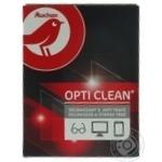 Auchan Wet Wipes For Optics and Screens 12pcs
