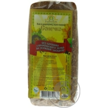 Bread Ukrekohlib Sonechko with sprouted wheat 330g