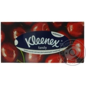Салфетки Kleenex Family Boxes в коробке - купить, цены на Ашан - фото 5