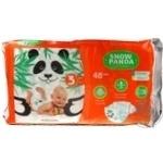Diaper Snizhna panda Extra soft for children 48pcs midi