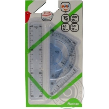 Set Auchan for drawing 4pcs mini - buy, prices for Auchan - image 2