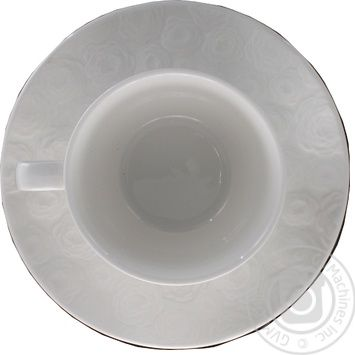 Чашка з блюдцем Meissen Krauff 200мл 21-252-113