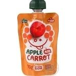 Puree Ovko carrot sugar free for children 90g