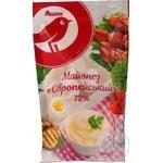 Mayonnaise Auchan European 72% 180g
