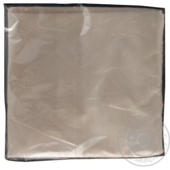 Наволочка Ашан светло-бежевая 50х70см - купить, цены на Ашан - фото 3