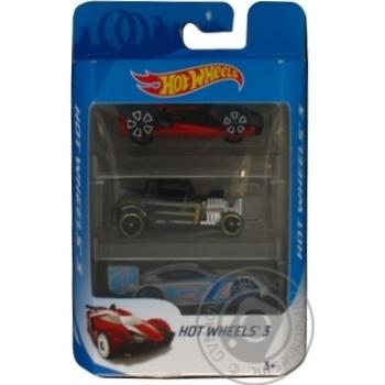 Набір автомобілей подарунковий Hot Wheels К5904