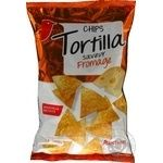 Chips Auchan potato with cheese mexican 150g Belgium