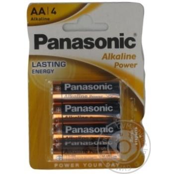 Panasonic Battery LR6 Alkaline Power AA 4pcs - buy, prices for EKO Market - photo 5
