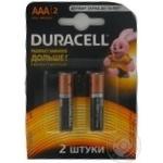 Батерейка Duracell AAA 1,5V LR03 2шт