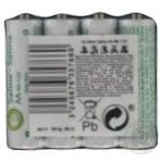 Thumb Up Batteries LR6 AA 4pcs - buy, prices for Auchan - photo 3