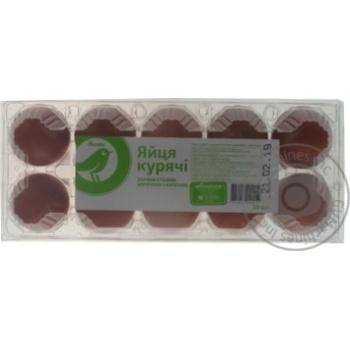 Яйца куриные Ашан 1 категории 10шт - купить, цены на Ашан - фото 2