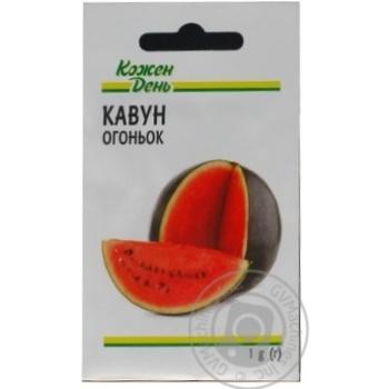 Kozhen Den Ogonjok Watermelon Seeds 1g - buy, prices for Auchan - photo 1