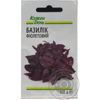 Kozhen Den Violet Basil Seeds 0,25g