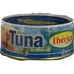 Fish tuna Iberica in oil 266g can