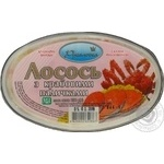 Rusalochka preserves with crab sticks salmon 250g