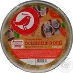 Auchan pickled spicy-piquant fish herring 500g