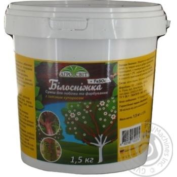 Садова побілка з залізним купоросом Агросвіт 1,5кг - купити, ціни на Novus - фото 1