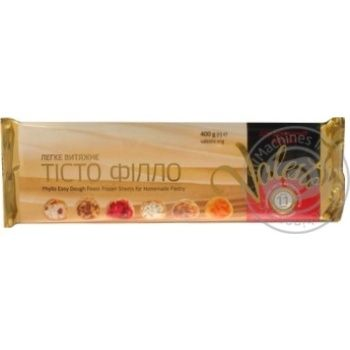 Тесто Valesto Филло вытяжное для домашней выпечки замороженное 30*40см 400г - купить, цены на Ашан - фото 3