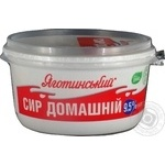 Cottage cheese Yagotynsky Homemade 9.5% 370g