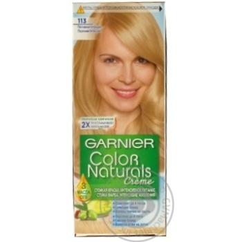 Color Garnier Color naturals sandy blond for hair