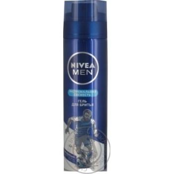 Гель Nivea Men Екстремальна свіжість для гоління 200мл
