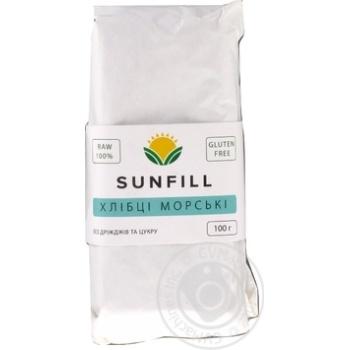 Хлебцы Sunfill морские 100г