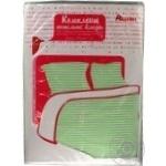 Комплект Ашан постельного белья двуспальный розовый 175x210см