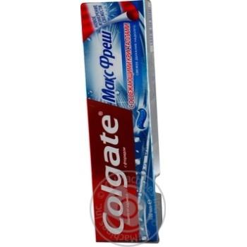 Зубна паста Colgate Макс Фреш Вибухова м'ята 100мл - купити, ціни на Novus - фото 6