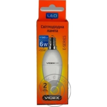 Videx LED C37e 7W E14 3000K 220V Lamp