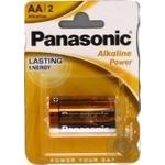 Батарейки Panasonic LR6 Alkaline Power AA 2шт