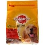 Food Pedigree dry for dogs 2600g