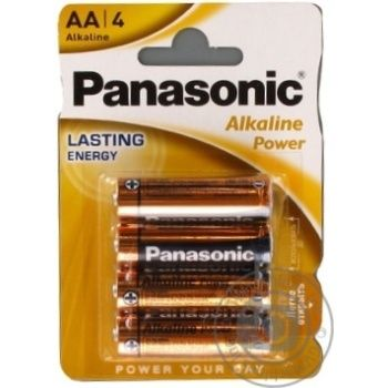 Батарейки Panasonic LR6 Alkaline Power AA 4шт - купити, ціни на ЕКО Маркет - фото 8