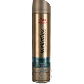 Лак Wellaflex экстра сильная фиксация для волос 250мл