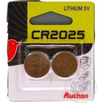 Auchan Alkaline Batteries CR2025 3V 2pc - buy, prices for Auchan - photo 8