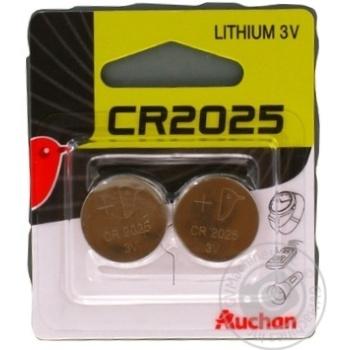 Auchan Alkaline Batteries CR2025 3V 2pc - buy, prices for Auchan - photo 6