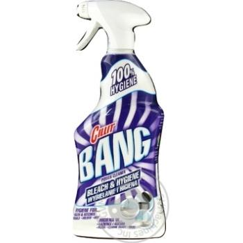 Чистящее средство Cillit Bang bleach&higien 750мл