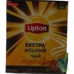 ЧАЙ LIPTON ЕКСТРА МІЦНИЙ 100Г