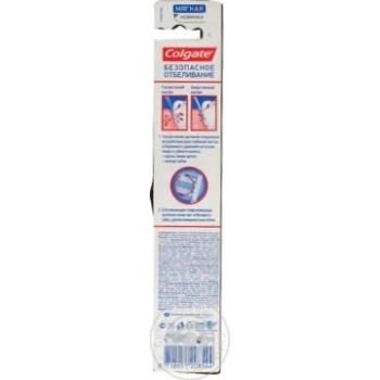 Зубна щітка Colgate Безпечне вибілювання м'яка в асортименті - купити, ціни на Восторг - фото 5