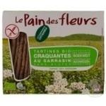 Хлебцы Le Pain des fleurs гречневые органические безглютеновые 150г