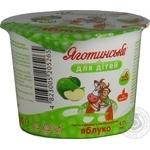 Паста сиркова Яготинське для дітей яблуко з 6 місяців 4.2% 100г